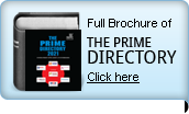 For full Brochure of THE PRIME DIRECTORY click here